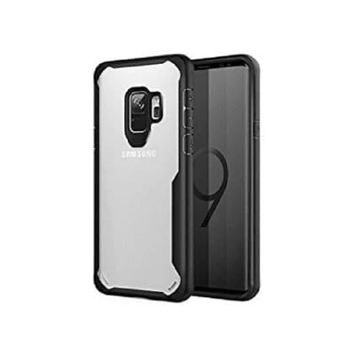 Transparent Back Case For Samsung Galaxy S9 - Black