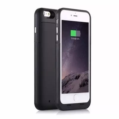 Power Case For Iphone 5 & 5s - 2200mah - Black