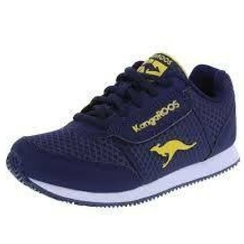 newest 67822 f9c80 Kangaroos Blue And Yellow Sneakers   Konga Online Shopping
