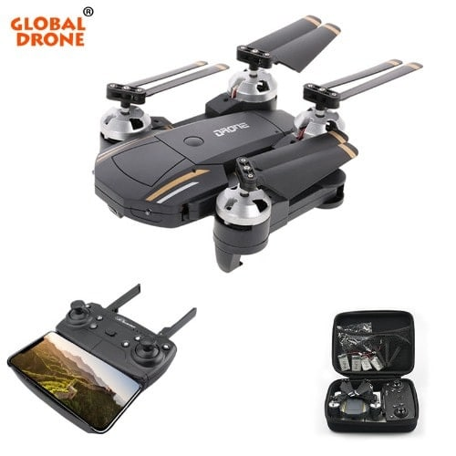 Gw58 Foldable Drone With Camera Hd 720p Headless Mold