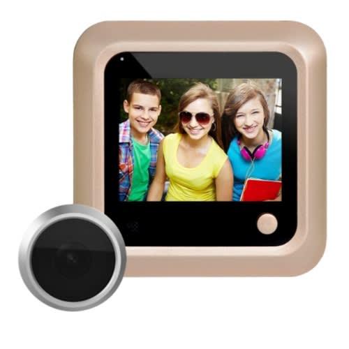 "2.4"" Screen 2.0mp Security Camera Peephole - Door Viewer"