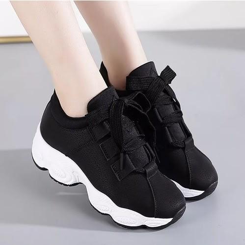 2476224721 Women's Lace-up Sneakers - Black | Konga Online Shopping