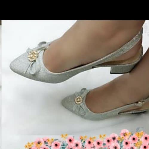 d3e20c4ecb9 Ankle Strap Bridal Shoe - Silver