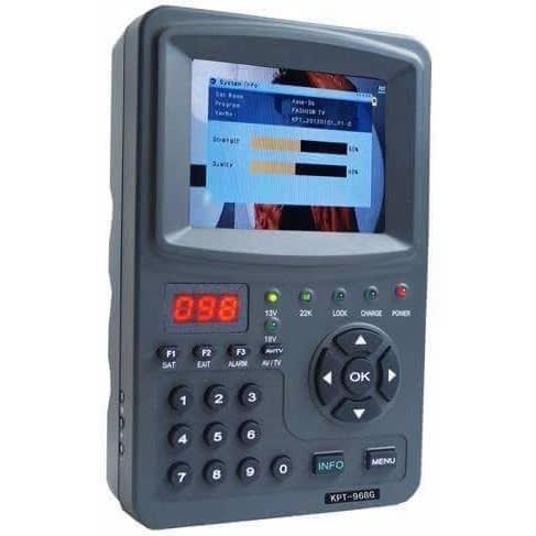 KTP, HP, MP4 Satellite Signal Finder