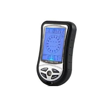 Digital Lcd Compass Altimeter Barometer Device