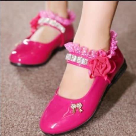 Baby Girl Pink Cover Shoes | Konga