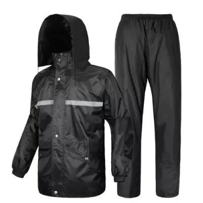 Rain Coat Up & Down With Reflator