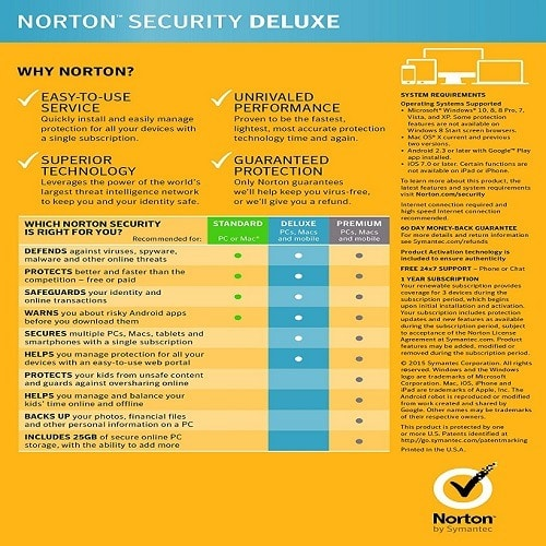 Security Deluxe 2 Devices - 1+1
