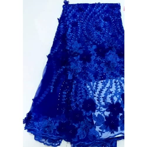 Netcord Lace - Deepblue - 5 Yards