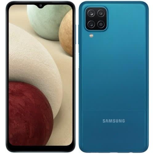Samsung Galaxy A12 - Dual Sim - 6.5 Inches - 4GB - 128GB - 4GLte - 5000mah - Blue.