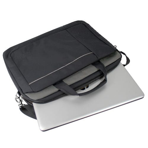 15.6 Inch Laptop Shoulder Bag - Black