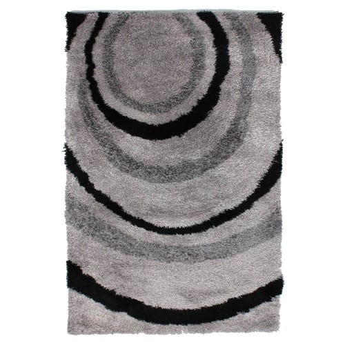 Centre Rug Black & Grey 160x230cm