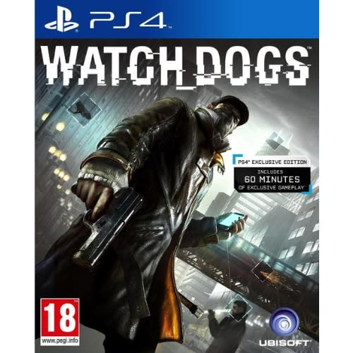 Ubisoft Watch Dog Ps4