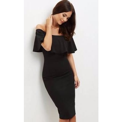 4010936657b0 Off -Shoulder Cape Gown - Black | Konga Online Shopping