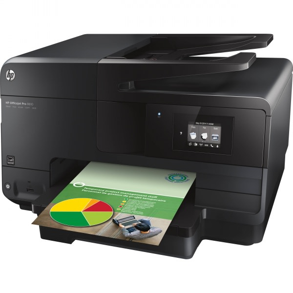 Officejet Pro 8610 e-All-in-One Colour Printer