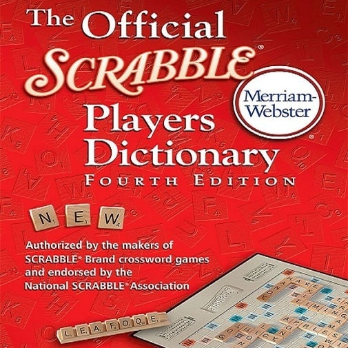 Official Scrabble Dictionary - 4th Edition by Merriam Webster