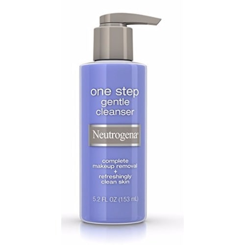 One Step Gentle Facial Cleanser And Makeup Remover - 5 2oz