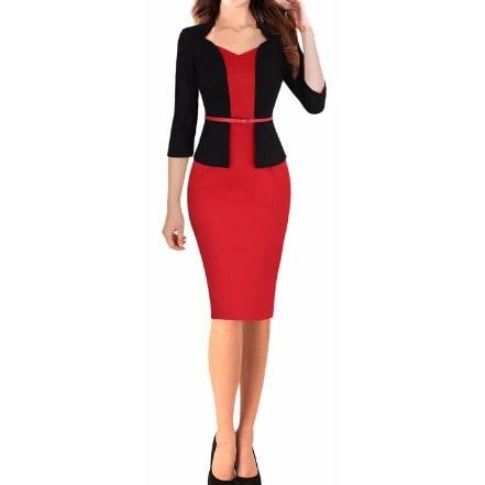 /O/n/One-piece-Faux-Elegant-Dress--Red-8058615.jpg
