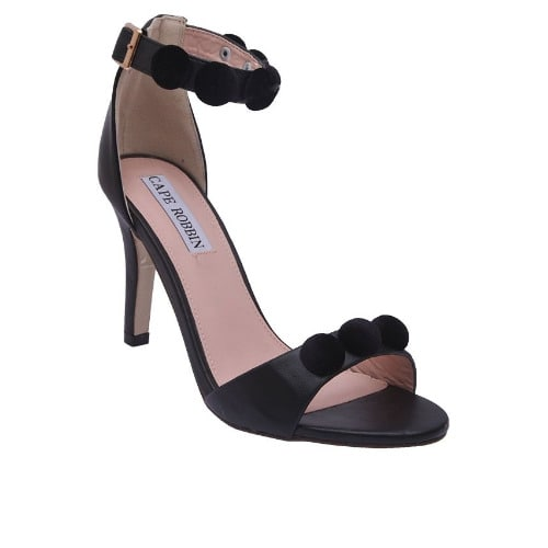 10c33d43f1f Open Toe Heel Sandal - Black