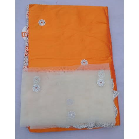 /O/r/Orange-Silver-White-Embroidered-Indian-Lace-George-With-Blouse-7-Yards-5034000.jpg