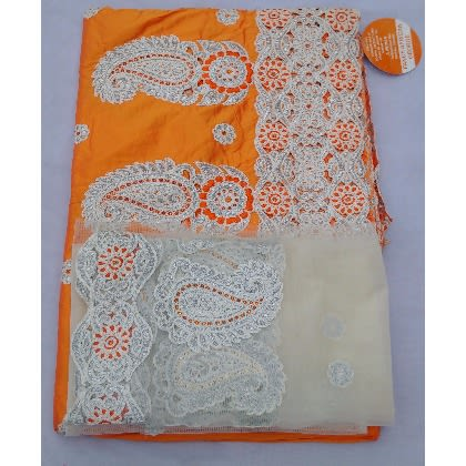 /O/r/Orange-Silver-White-Embroidered-Indian-Lace-George-With-Blouse-7-Yards-5034001.jpg