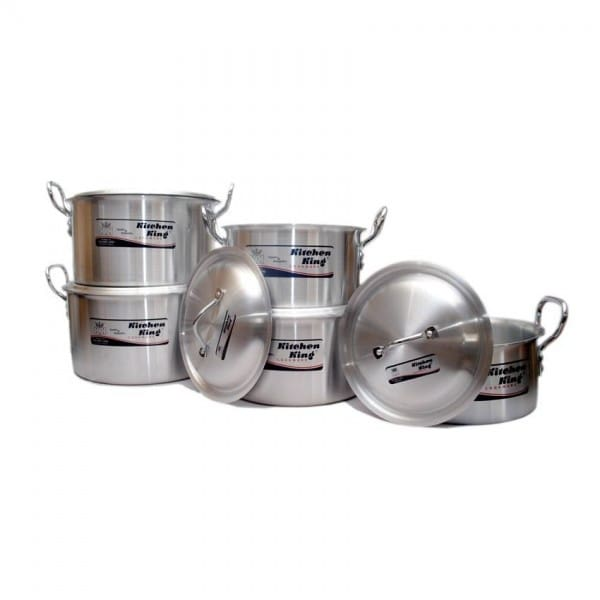 Orient Kitchen King 10 Piece Pot Set