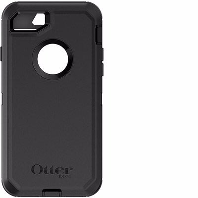 timeless design 51948 5f602 Otterbox Defender Case For iPhone 8 - Black