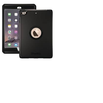 watch 0add0 24828 Otterbox Defender Case for iPad Mini 2 & 3 - Black