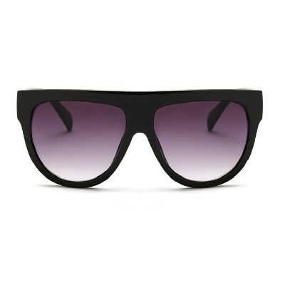 2c79267b9d12 Oversize Flat Top Sunglasses - Black | Konga Online Shopping