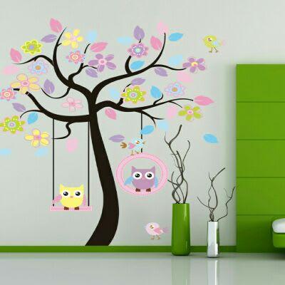 /O/w/Owl-Tree-Cartoon-Wall-Sticker--160x160cm-5129396_1.jpg