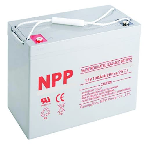 NPP Deep Cycle Cell Battery - Npd12-100ah