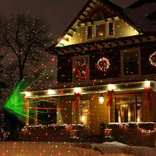 Christmas Light Projector.Christmas Light Projector