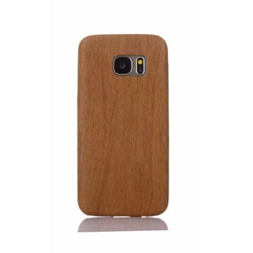 release date: 6f06c 39da0 PC Wood Effect Case For Samsung Galaxy S6 Edge - Brown