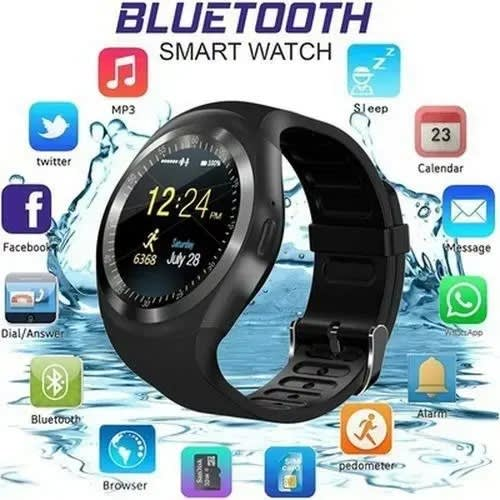 Y1 Smartwatch For Android And Ios - Black