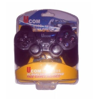 Dual Vibration Usb Game Pad Controller For Pc - Windows