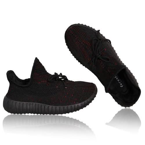 Breathable Mesh Sneakers-Black | Konga