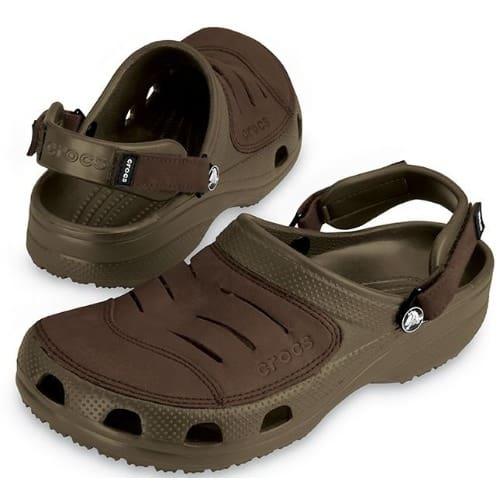 eac650584 Crocs Men s Yukon Crocs Sandal - Brown