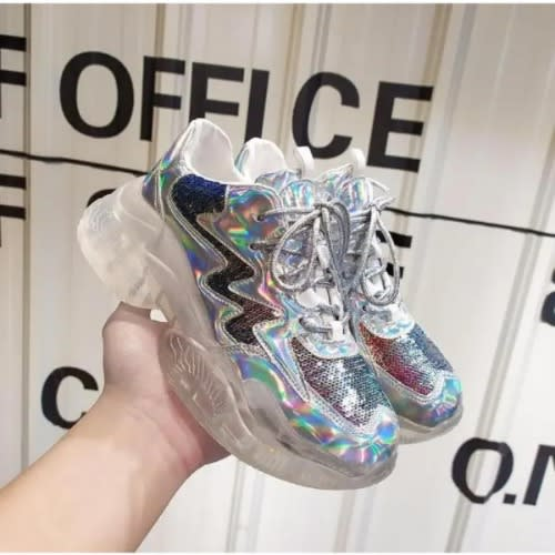 2ac9759e921 Women s Glass Like Sneakers