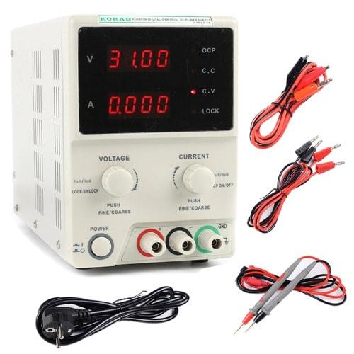 Korad High Precision Laboratory Voltage Regulator-DC Power Supply - 30V-5A