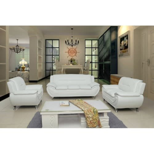 Handys Living Room 3 Piece Set Off White Konga Online Shopping