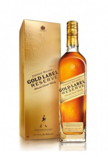 Gold Label Reserve - 75cl  40% acl. (Single Bottle).
