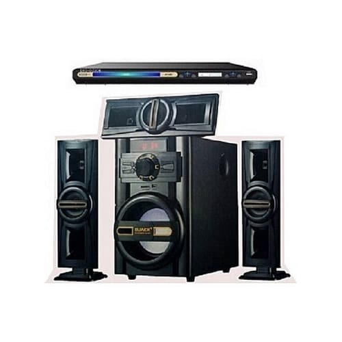 Bluetooth Home Theatre System Dj-503 And Dvd Player