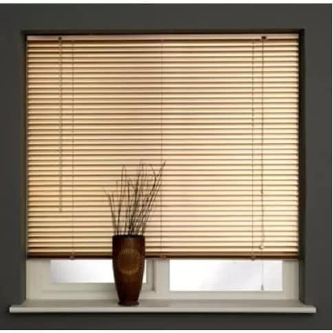 Venetian Blind - 1.8 x 1.5-6ft x 5ft - Gold