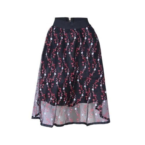 8269322623 Ladies Floral Skirt - Black & Red | Konga Online Shopping