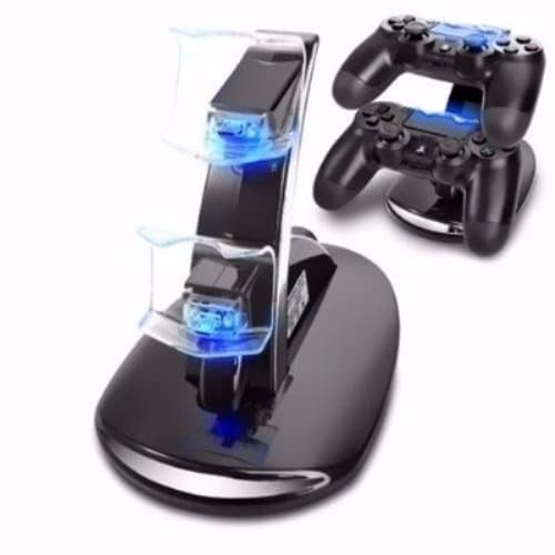 PS4 Controller Charging Stand - 2x USB Simultaneous Charge