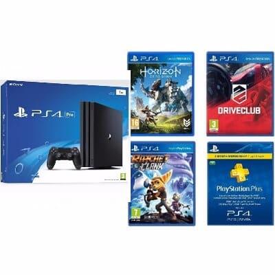 Sony PlayStation 4 Pro - 1TB PS4 Dynamic 4K Gaming & 4K