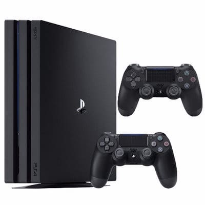 a3621e76155 Sony PS4 Pro 1TB with 2 Pad Controllers