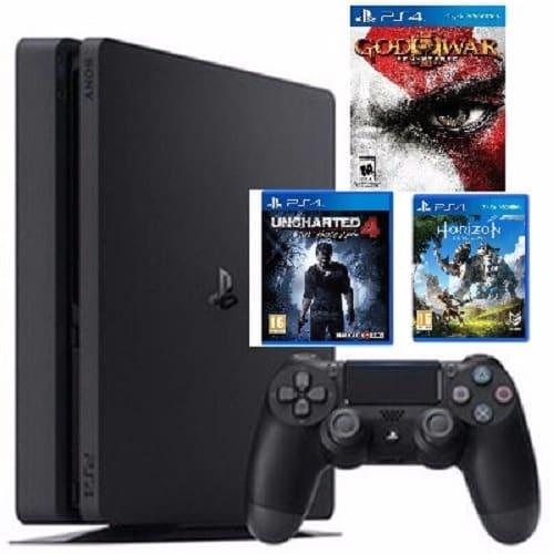 Sony PS4 Slim 1TB + Tekken 7 Deluxe Edition CD | Konga