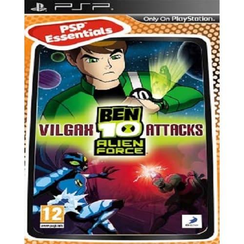 PSP Ben10 Alien Force Vilgax Attacks