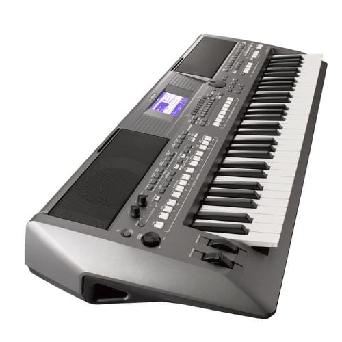 PSR-S670 61-Key Arranger Workstation Keyboard W/ Stand, Sustain Pedal